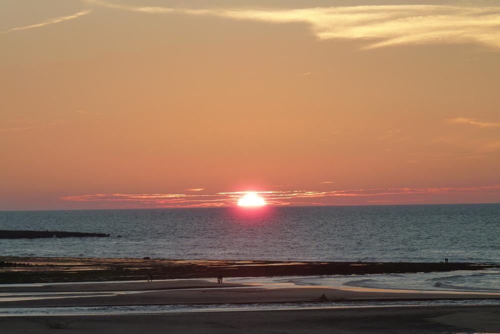 le soleil rouge