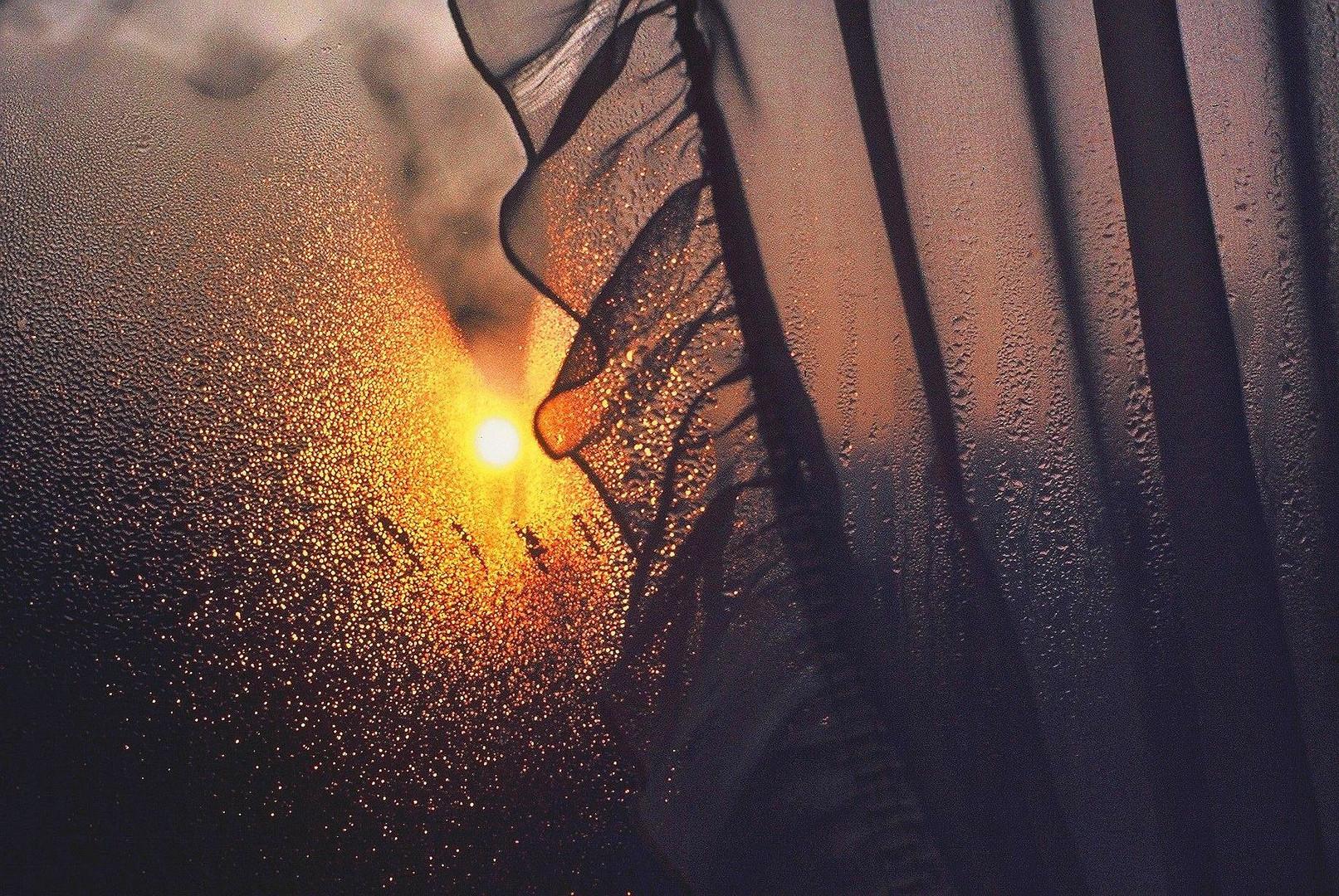 Le soleil se lève au carreau