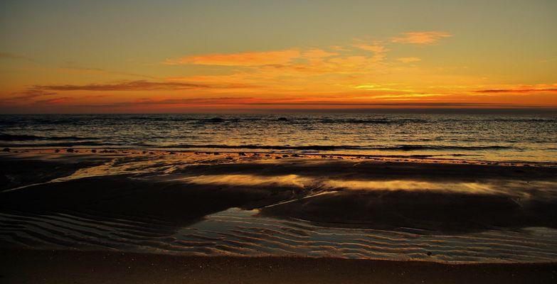 Le soleil se lève sur Pointe-aux-Anglais