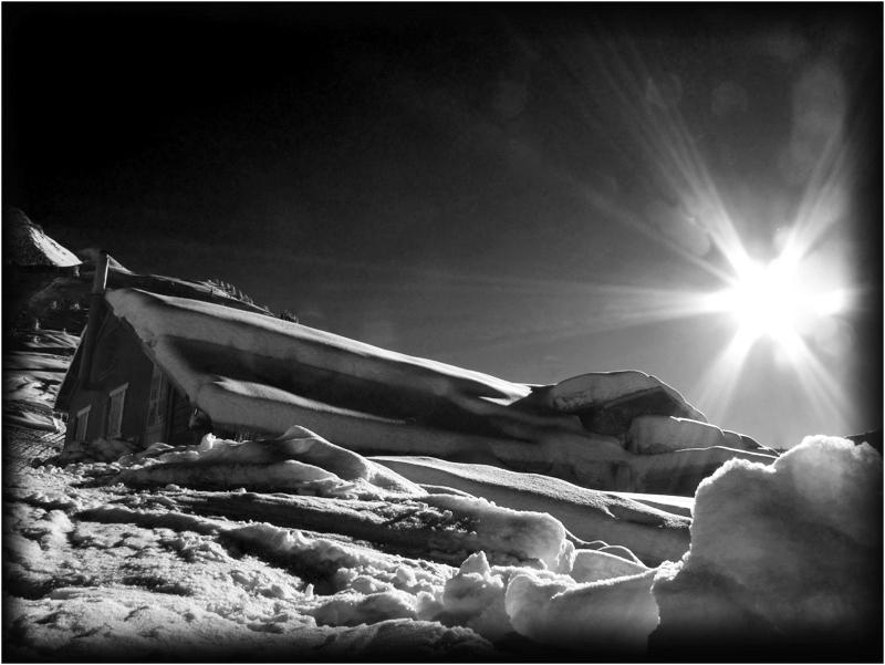 le soleil...la neige