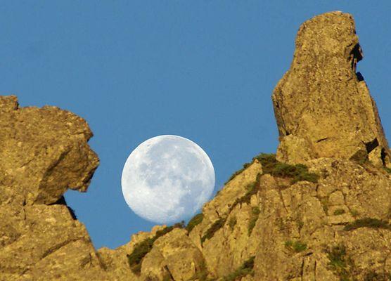 Le sphinx et la lune