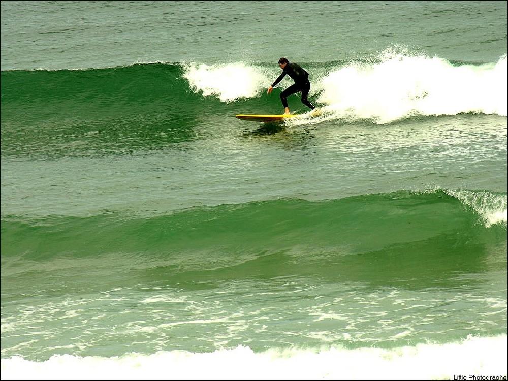 Le surfeur de L'atlantique
