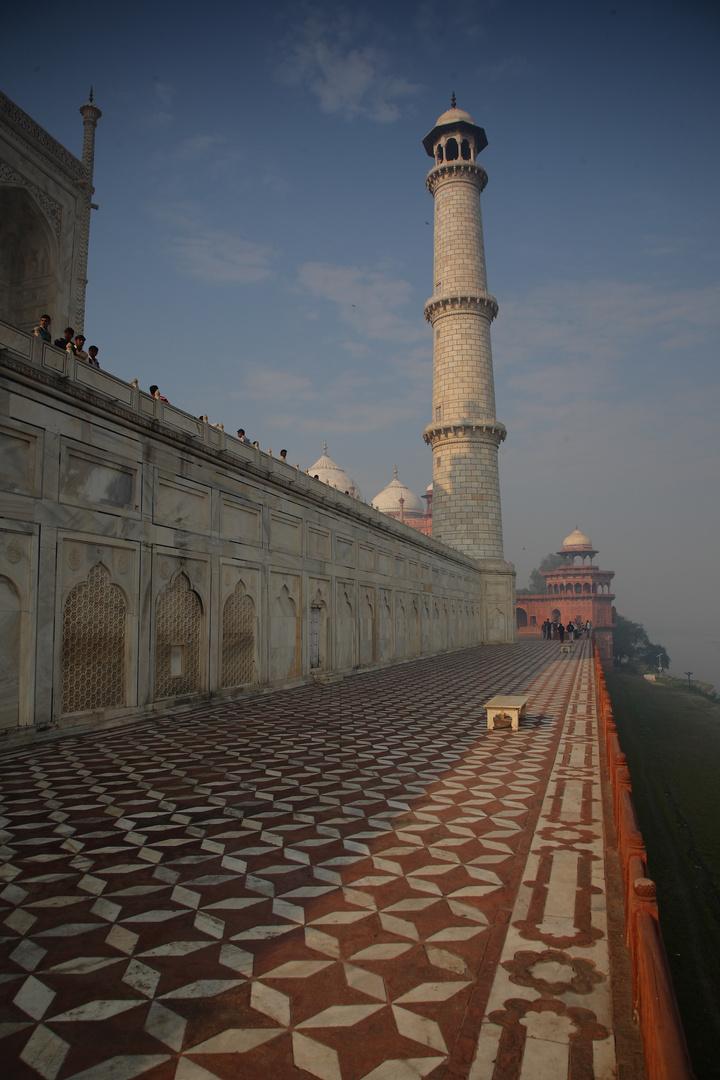 Le Taj Mahal, District d'Agra, Uttar Pradesh