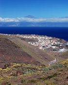 Le Teide depuis la Gomera