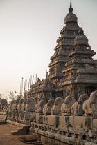 Le Temple du Rivage (8ème siècle) à Mamallapuram - Patrimoine mondial de l'UNESCO
