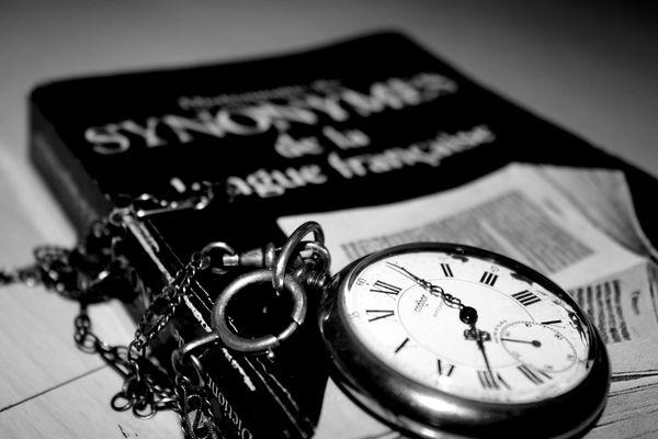 """""""Le temps mûrit toute choses"""" Rabelais."""