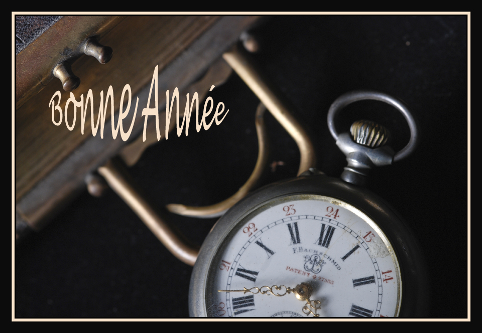 Le temps qui passe Bonne Année 2010