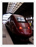 Le Thalys en gare du Nord