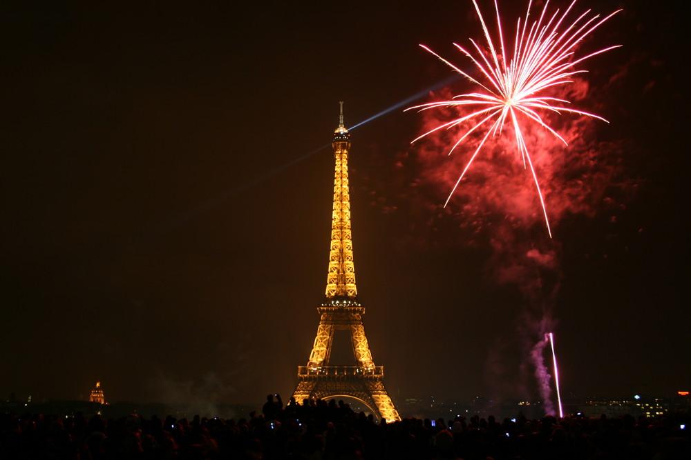 Le Tour Eiffel - 31. Dezember 2007