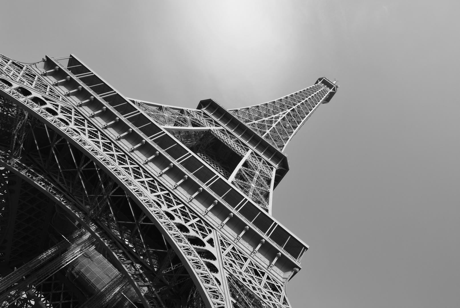 Le tour Eiffel aus einer anderen Sicht