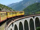 Le train Jaune(Pyrénées Orientales)