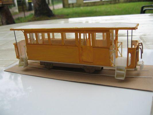 le tramway de Valenciennes en modele reduit 1/43