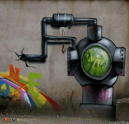 Le trou dans le mur