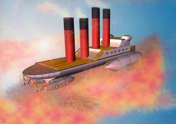 Le vaisseau des scieux