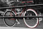 Le Vélo Rouge - Place Jacques Cartier