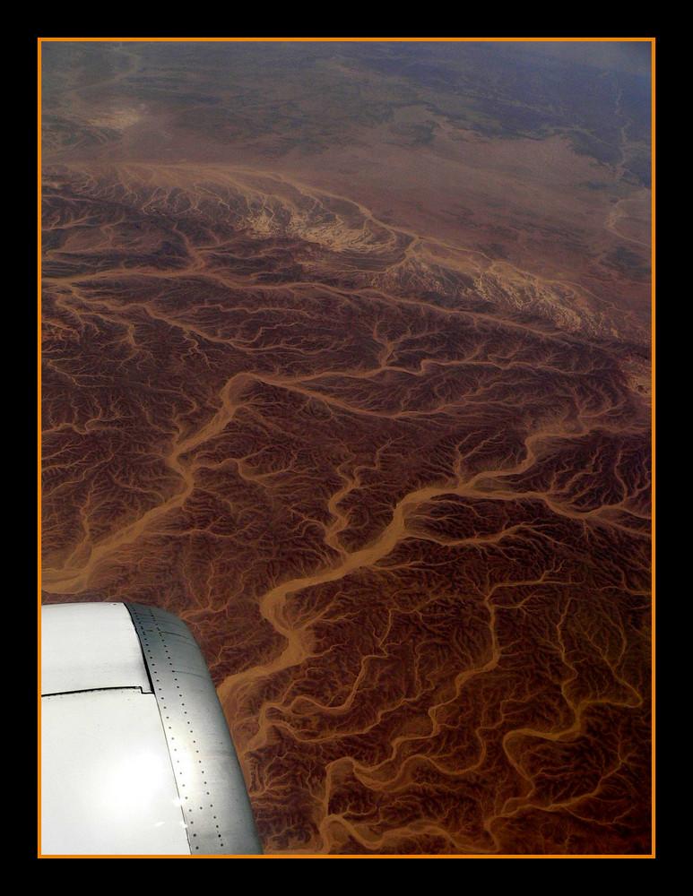 ...le vene...del deserto...