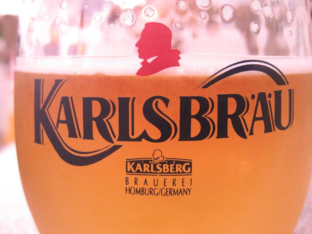 Le verre de bière