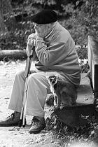 Le vieil homme et l'animal