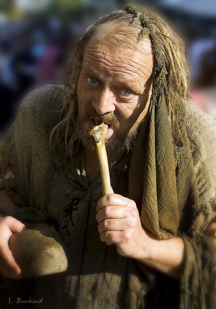 le vieux mendiant