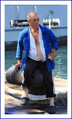 Le vieux pêcheur.