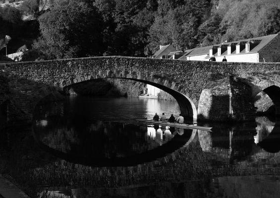 le vieux pont sur la Rance