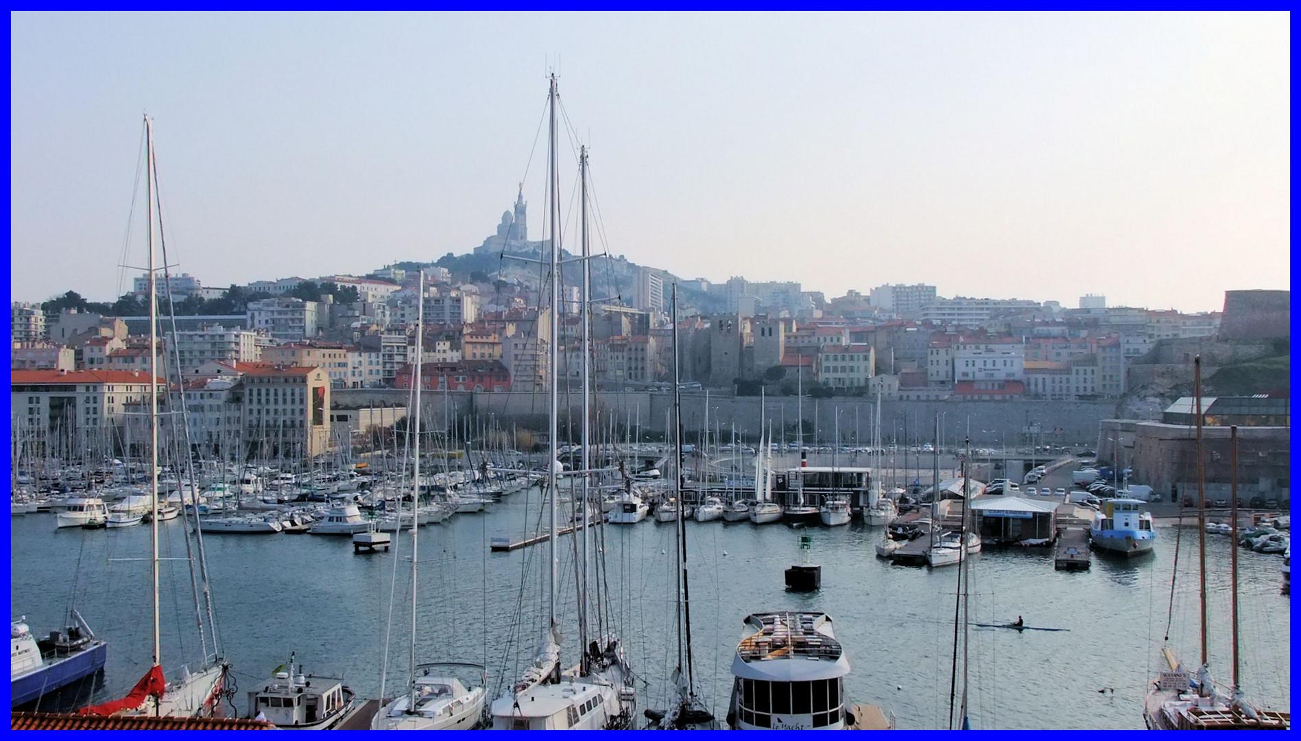 Le vieux-port en grand large...
