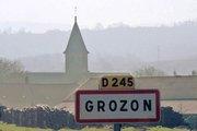 le village de Grozon(Jura)