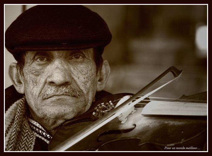 Le violoniste...