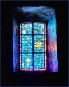 Le vitrail bleu