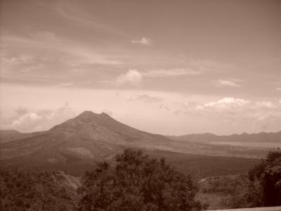 le volcan batur à bali