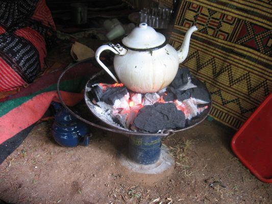 le vraie thé saharien
