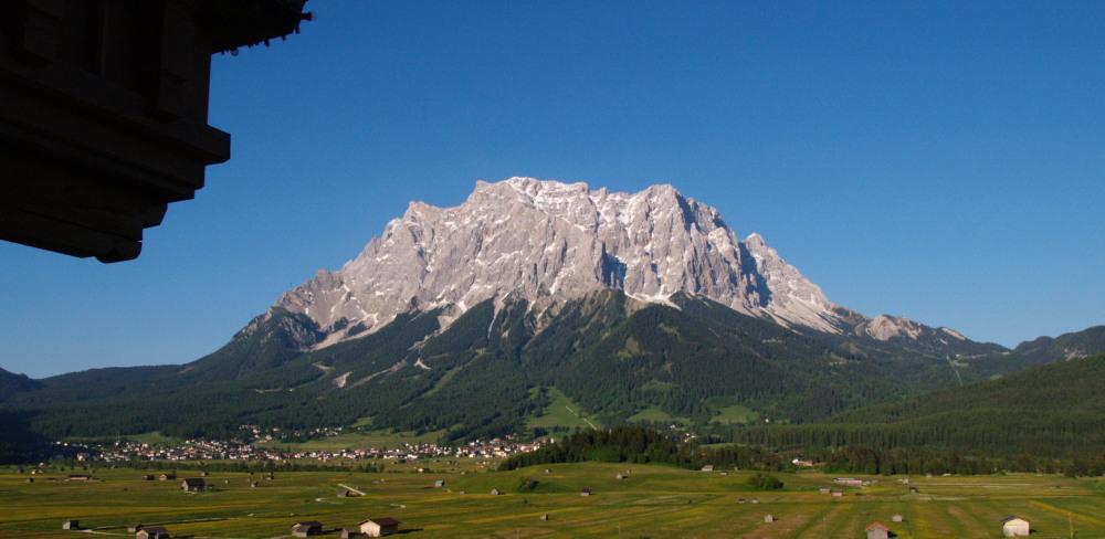 Le Zugspitze: le toit de l'Allemagne II