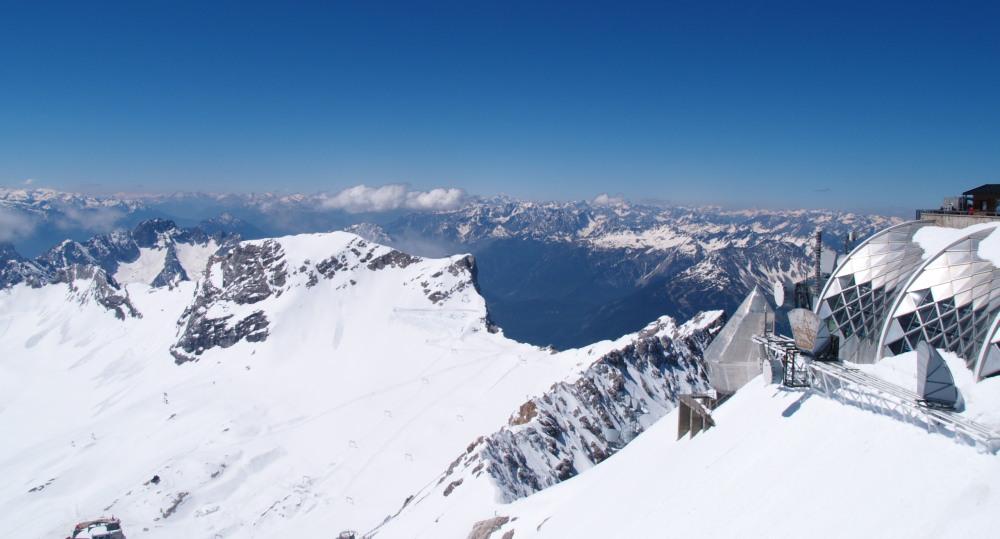 Le Zugspitze, le toit de l'Allemagne III