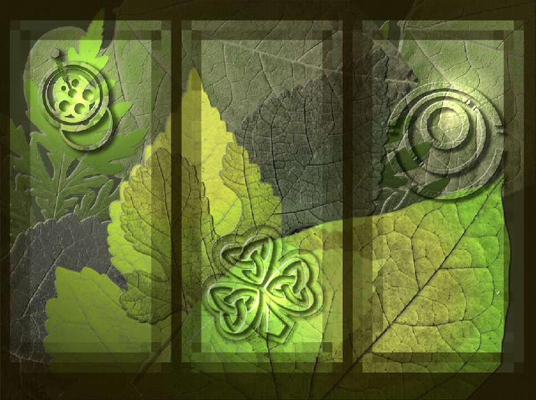 Leaf triptyk