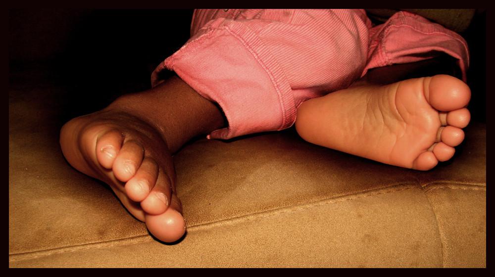Leas Füße