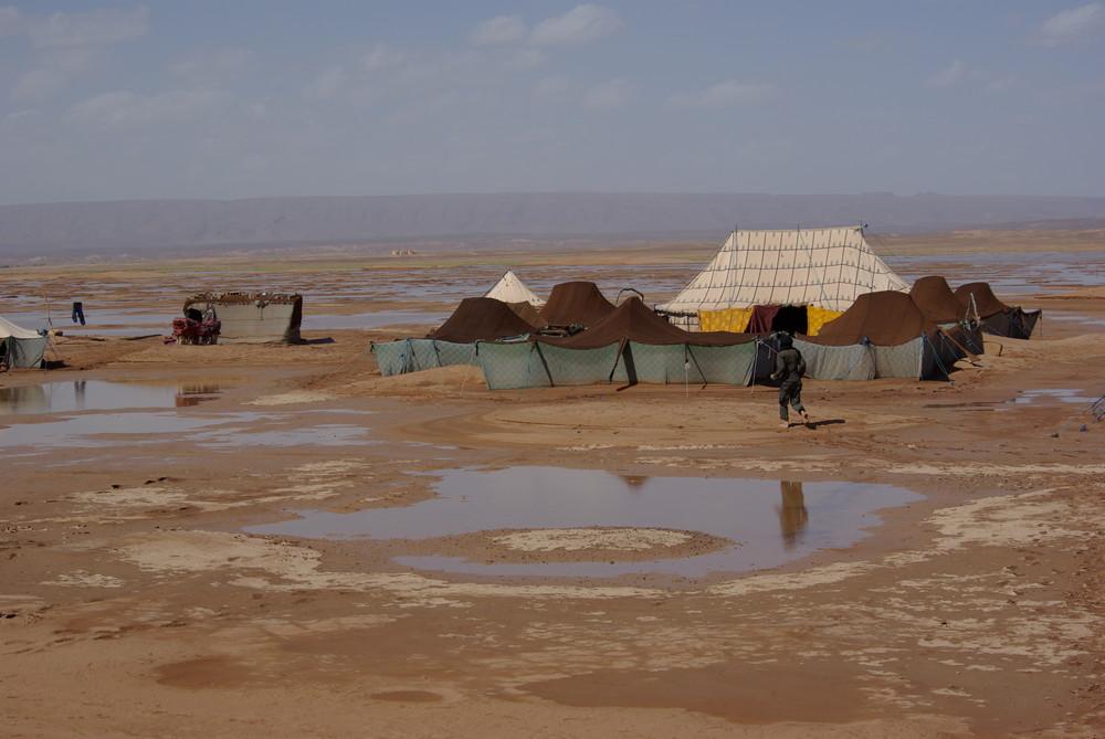 L'eau dans le désert