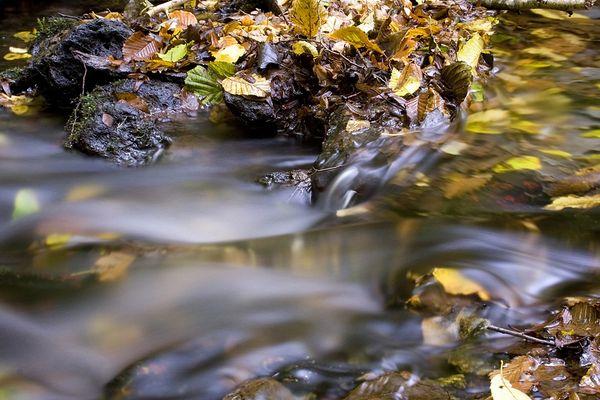 l'eau filante