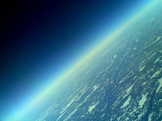 Leaving earth..