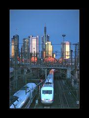 leaving Frankfurt Main Station