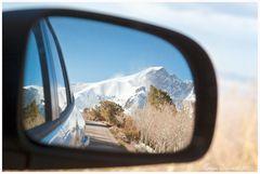 Leaving Mount Wheeler