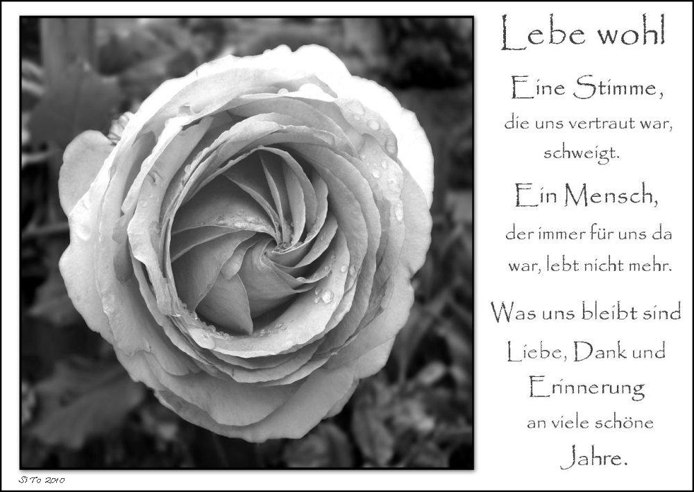 Lebe wohl