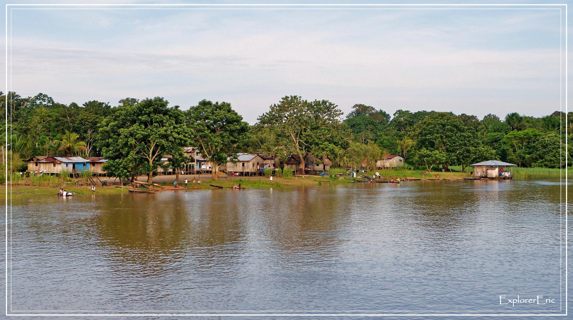 Leben am Amazonas..............