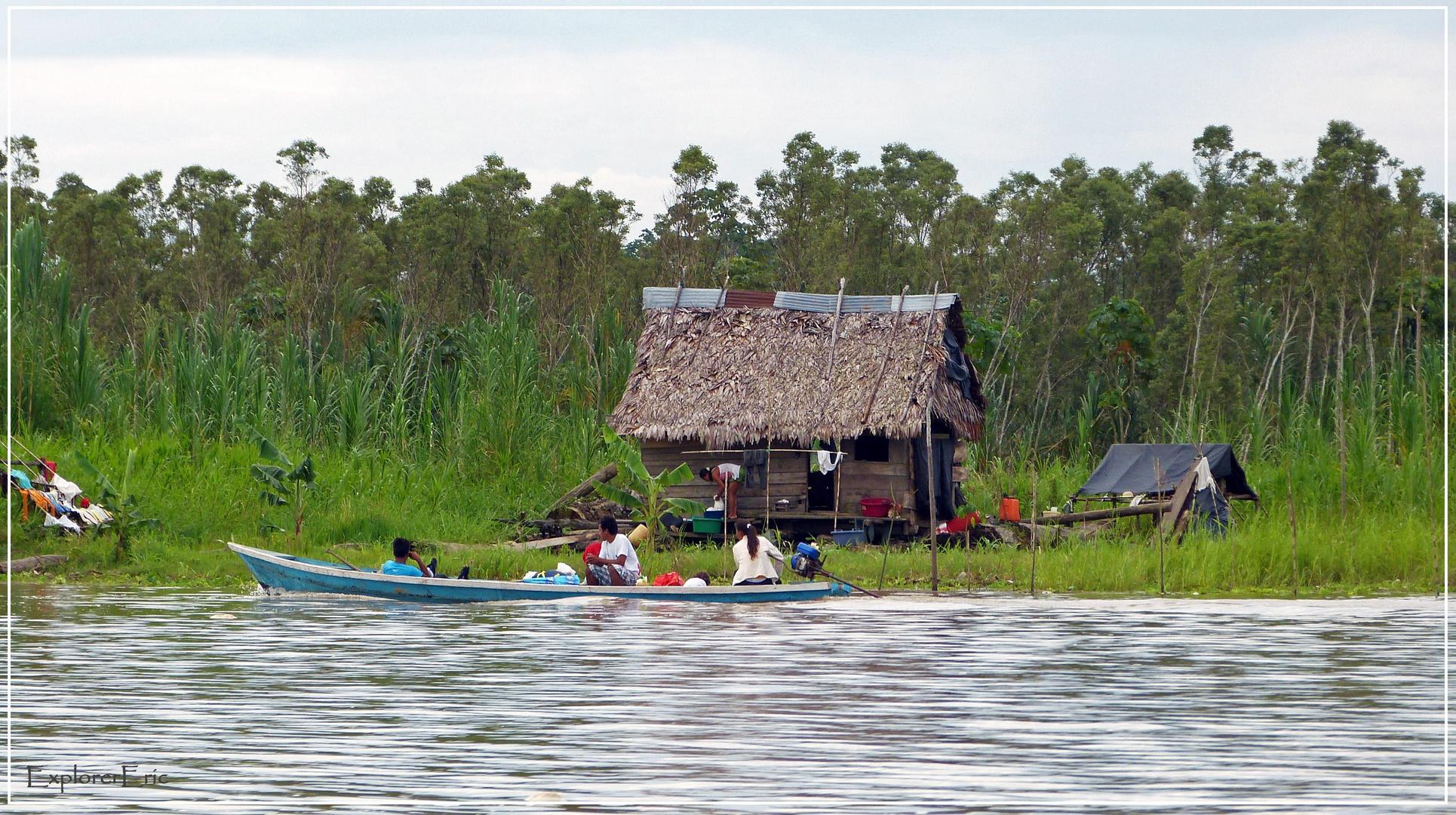 Leben am großen Fluss..............