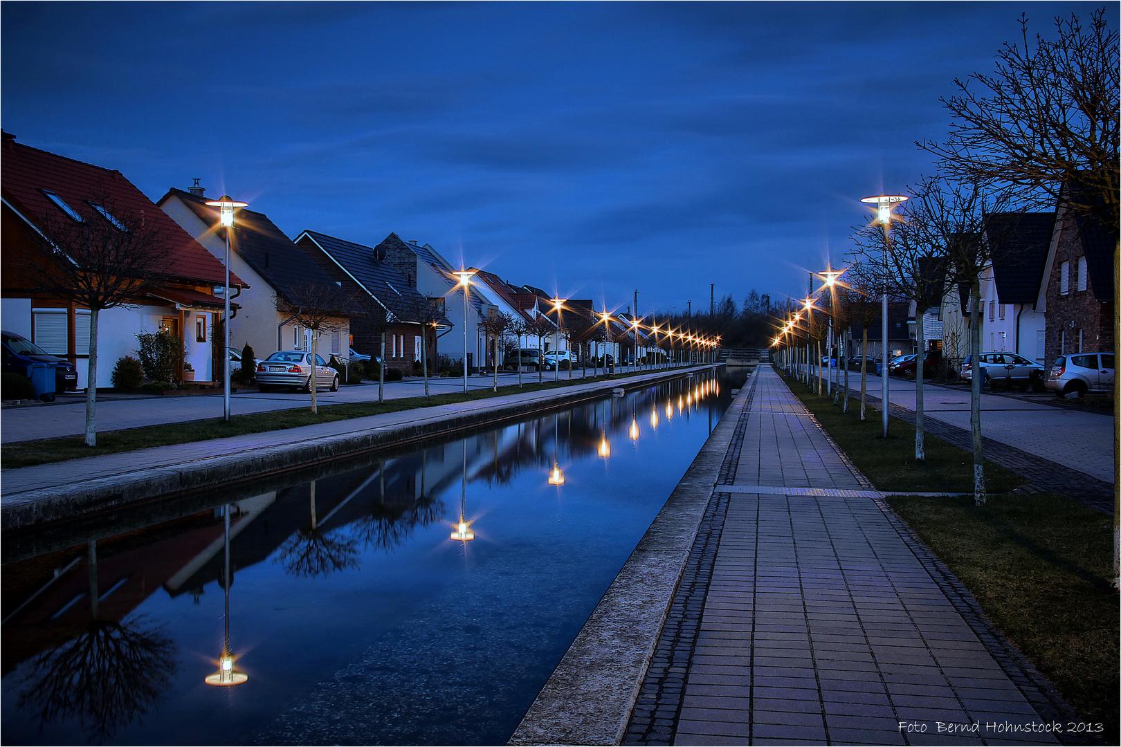 Leben am Nordkanal .....