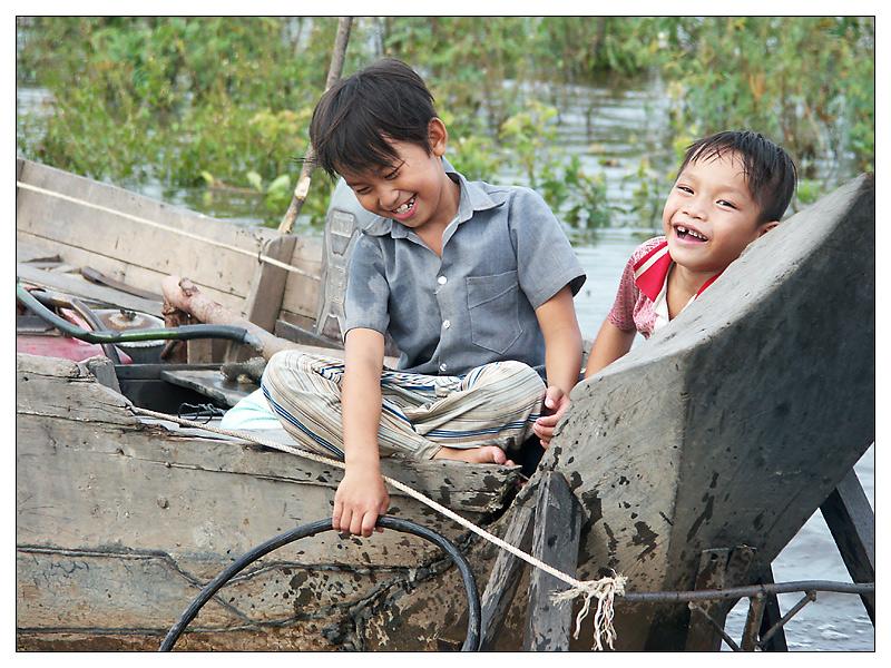 Leben auf dem Tonle Sap II - Siem Reap, Kambodscha