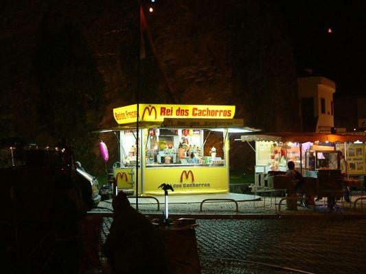 Leben bei Nacht in Portugal