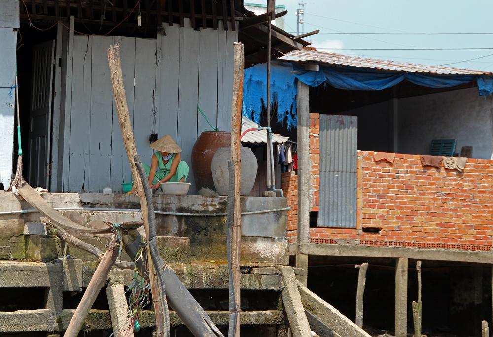 Leben im Mekong Delta