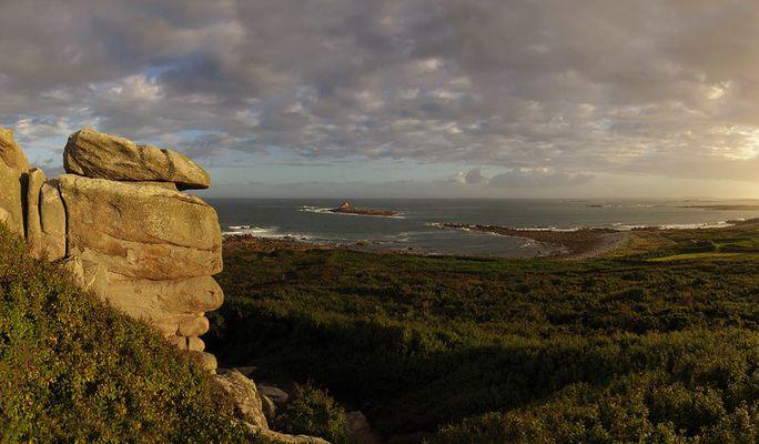 Leben im Stein - Ile Grande an der Granite Rose - Bretagne