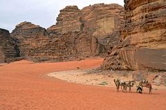 Leben im Wadi Rum
