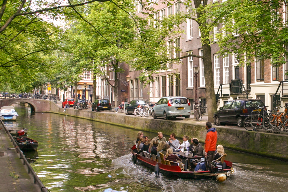 Leben in Amsterdam
